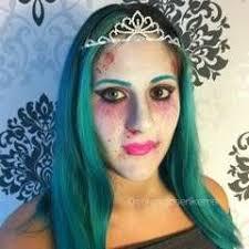 cartoon zombie princess makeup tutorial
