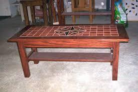 slate tile coffee table outdoor top cement regarding end tables prepare 12