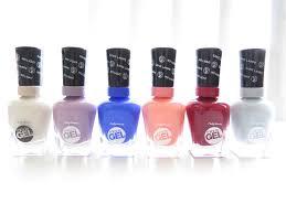 Sally Hansen Gel Polish Light Sally Hansen Miracle Gel 2 Step Gel Manicure Review