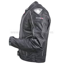 vulcan men s nf 8141 a armored leather motorcycle jacket with perforated leather panels