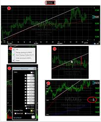 How To Place Fibonacci Drawings On The Chart Software Help