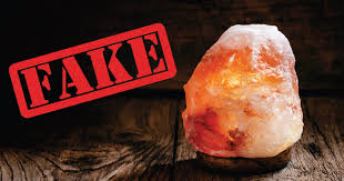 Real Salt Lamp New Fake Himalayan Salt Lamps What You Need To Know