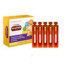 Siro Ăn Ngon Hoa Thiên Kids (Hộp 4 vỉ x 5 ống 10ml) – HTP Pharma