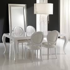 white laquer furniture. Wonderful White High Gloss White Lacquered Dining Table And Chairs Set Inside White Laquer Furniture