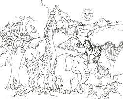 Small Picture Giraffe Coloring Page Printable anfukco