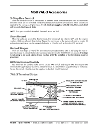 msd ignition wiring diagrams msd 7al 3 installation instructions part 2
