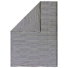 marimekko tasaraita double duvet cover 240 x 220 cm off white dark blue