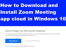 You can use zoom on windows 10 pcs through the official zoom meetings client app. How To Download And Install Zoom Meeting App Cloud In Windows 10