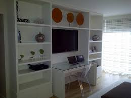 wall units modern home office
