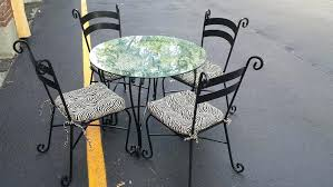 adorable pier one bistro table 1 glass dining gallery round nick scali