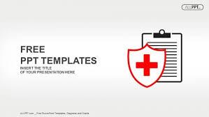 Free Minimalist Medical Icon Powerpoint Template Designhooks