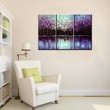 Modern Art Paintings For Living Room Aliexpresscom Buy 3 Piece Abstract Canvas Art Painting Triptych