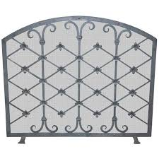 custom iron fire screen made by legacy antiques in dallas 3 765 cad liked on polyvore featuring home home decor fireplace accessories fireplaces