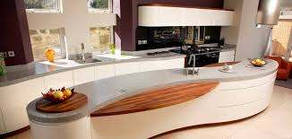 Fancy Curved Kitchens 34 Upon Decorating Home Ideas with Curved Kitchens
