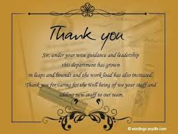 Thanks For Your Boss Business Thank You Messages Christmas