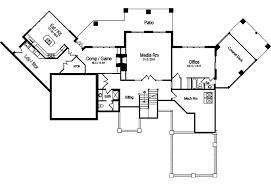 Open Living Floor Plan  Lake House Design With Walkout BasementLuxury Mountain Home Floor Plans