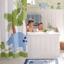 boys decor bathroom accessories kids curtains