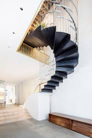 Dash Design New York Dash Marshall Merges Two Tribeca Lofts With Sculptural Staircase