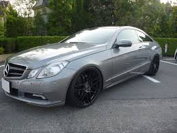 NEW E350 Coupe with 20