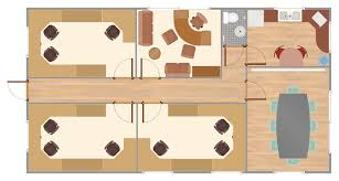 Office space plans Furniture Showroom Design Extended With Office Layout Plans Solution From The Building Plans Area Conceptdraw Diagram Became The Ideal Software For Making Office Floor Plans Techplace Office Floor Plans