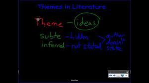 using themes to analyze literature