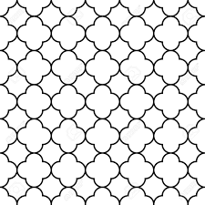 Quatrefoil Pattern Awesome Black And White Arabic Traditional Geometric Quatrefoil Seamless