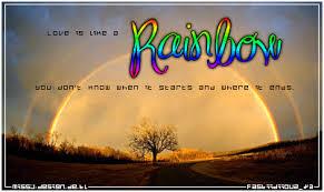 Schöne Sprüche Regenbogen Leben Sprüche