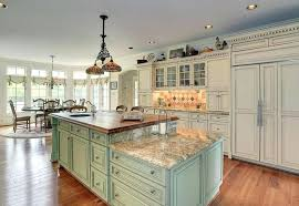 two tier kitchen island country kitchen with light green two tier island with butcher block counter two tier kitchen island