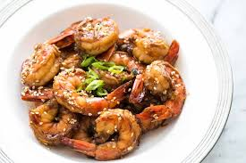Ginger Sesame Garlic Shrimp Recipe ...