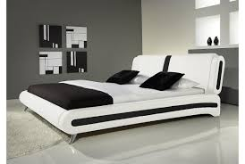 cheap king size leather bed with mattress  bed furniture decoration