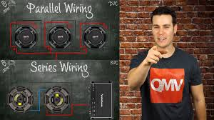 how to wire subwoofers parallel vs series single voice coil and how to wire subwoofers parallel vs series single voice coil and dual voice coil