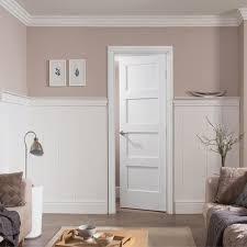 4 panel white interior doors. Internal White Primed Shaker 4 Panel Door Interior Doors E