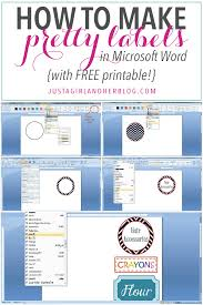 1) draw a simple line using auto shapes. How To Make Pretty Labels In Microsoft Word