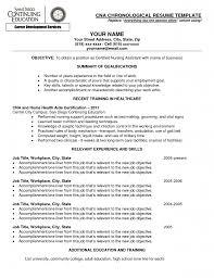 Sample Resume For Cna Billigfodboldtrojer