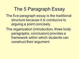 lecture literature essay ppt video online  the 5 paragraph essay the five paragraph essay is the traditional structure because it is conducive