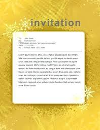 Free Gold Sparkles Party Invitation Template Invite Word