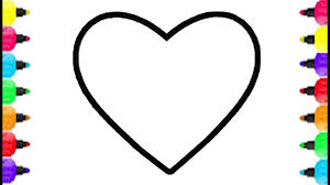 Small Picture Heart Shape Coloring Pages How To Draw Heart Shape Accessory For