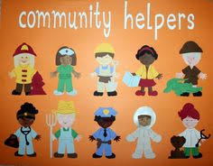 Image result for show and tell on community helpers