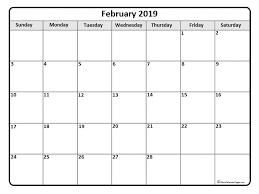 calendar template month february 2019 calendar 56 templates of 2019 printable calendars