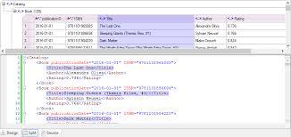 Viewing Xml File Xml Editor