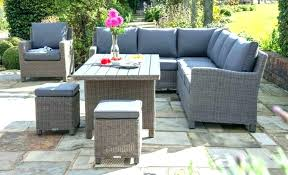 l shaped patio furniture u outdoor sectional