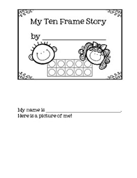 A Ten Frame Story About Me Mini Book