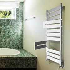 Hot water towel radiator / electric / metal / chrome - APOLLO FLEXI