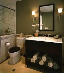 elegant black wooden bathroom cabinet. Plain Black Elegant Powder Room With Black Vanity Marble Tile Sage Green Walls  Painting Bathroom CabinetsWooden  Throughout Black Wooden Cabinet M