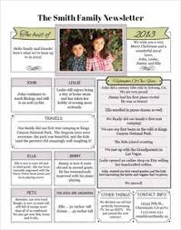 Writing A Family Christmas Newsletter