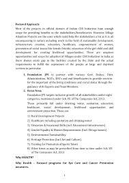 proposal for village development village adaption foundation jps 2 3