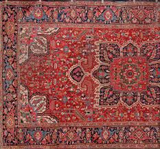 antique heriz persian rug