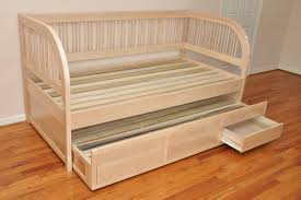 living appealing daybed with trundle mattress 32 wooden and drawers daybed with trundle mattress