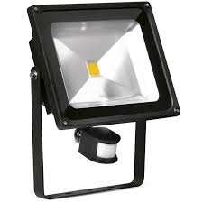 helius lighting group. helius lighting enlite enfl50pira40 50w led floodlight pir black ip65 adjustable 4000k 3750lm group