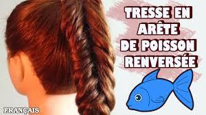 Comment Faire La Tresse En Ar Te De Poisson Renvers E Reverse